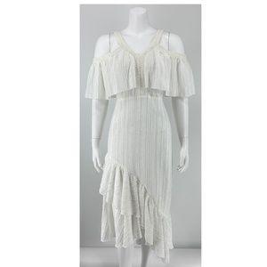 * NEW Tularosa White Midi Dress E31